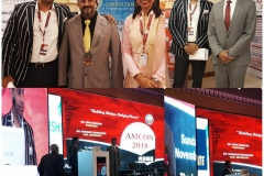 Dr. Debraj Shome was on the organizing committee of AMCON 2018, annual conference of the Association of Medical Consultants (AMC), held in Mumbai, in November 2018.