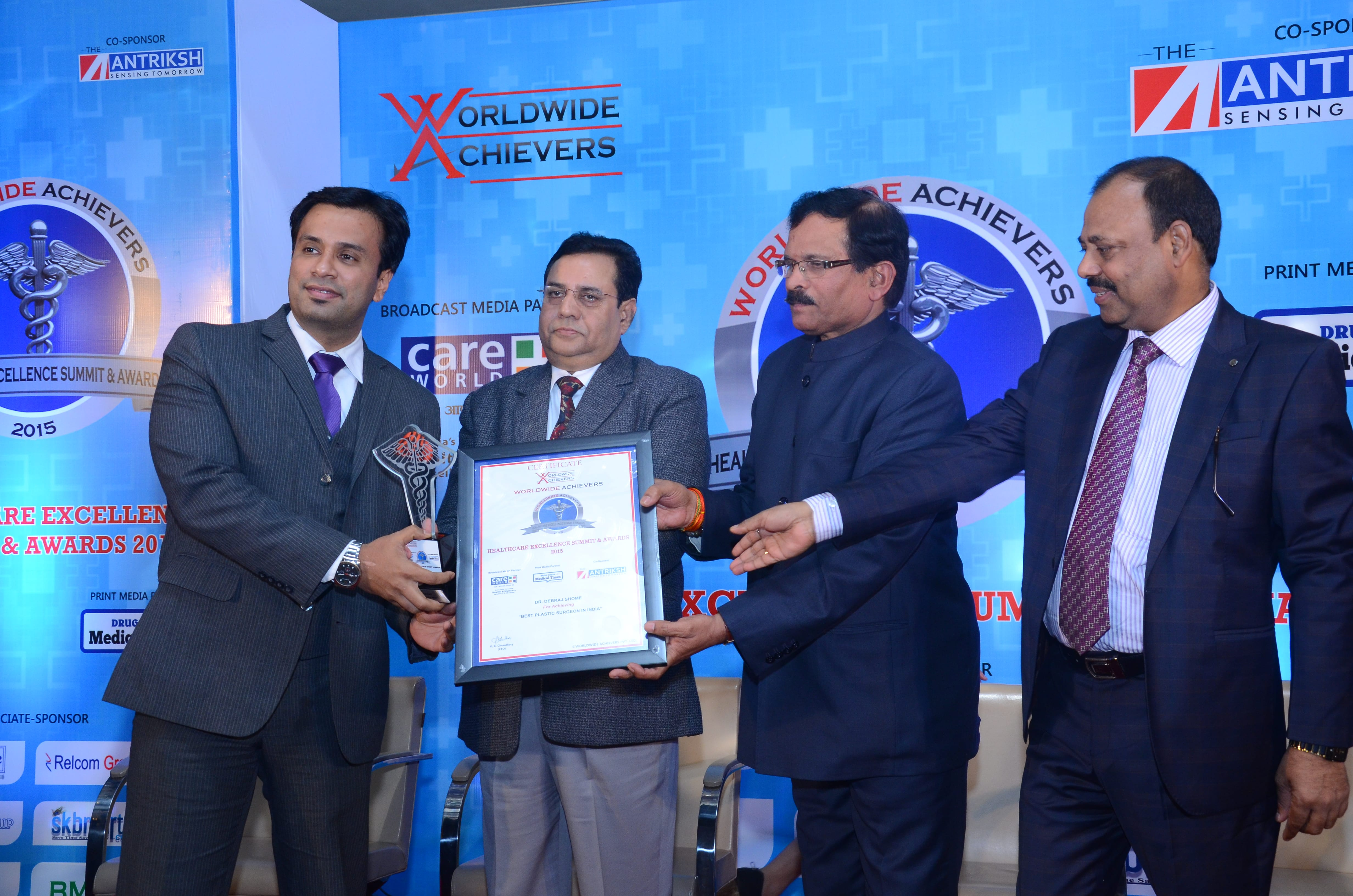 Worldwide Achievers recognizes Dr. Debraj Shome