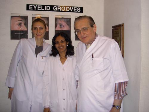Dr. Rinky Kapoor with Dr. Jay Barnett & Dr, Channing Barnett