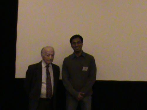 Dr. Debraj Shome with Dr. Leslie Bernstein