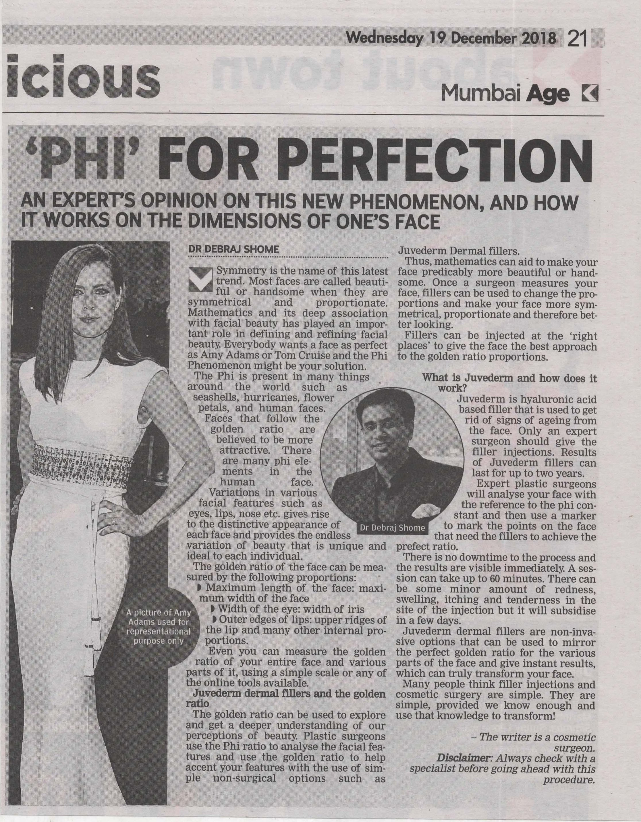 PHI for perfection - Asian Age